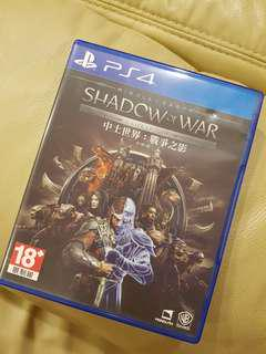 PS4 Shadow of War (Used)