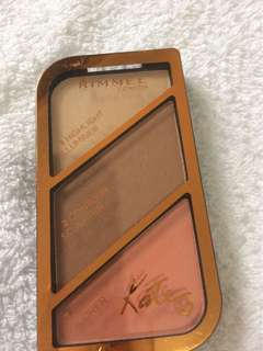 contour,blush on,highlights 3 in 1