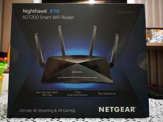 Netgear Nighthawk X10 AD7200 Smart WiFi Router