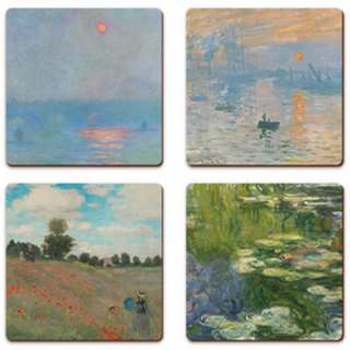 🚚 Monet Coasters - 4 for $17