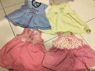 (Price reduce)[4 items] 6M Girl Dress