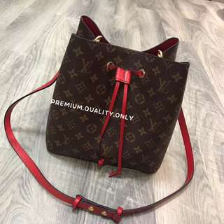 LV Neonoe In Red Strap