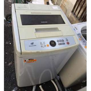 Automatic Top Load Samsung Washing Machine 7kg Mesin Basuh Recondition
