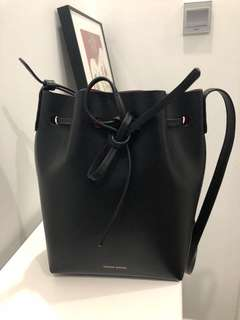 Mansur gavriel mini bucket bag , original price hkd4700