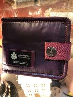 日本版 Under Stranger  紫色 銀包- 全新 ( 另有 Playboy 日本版 銀包 $250-300 )