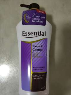 Brand new Essential Tame Control Shampoo