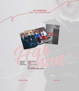 [SG GO] NCT HAECHAN DEBUT 2nd Anniversary MINI photobook by @20000606net WittyBoy⚡️
