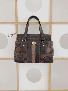 Coach Leather Bag (Authentic)