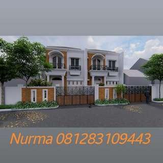 Rumah 2 Lantai di Rawamangun Jakarta Timur