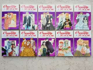 Ouran High School Host Club Manga (English) Vol.1-10