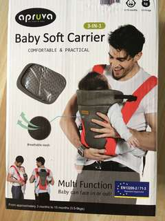 Apruva baby carrier