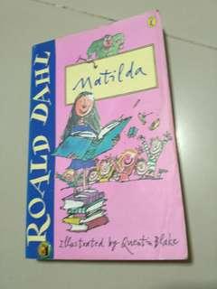 Book - Matilda by Roald Dahl
