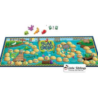 Learning Resources - Sum Swamp - Addition and Subtraction Game