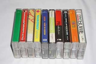 Used Cassette For Sale / Kaset Terpakai Untuk Dijual