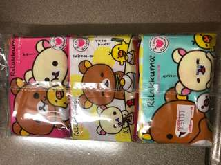 全新鬆弛熊紙巾6包