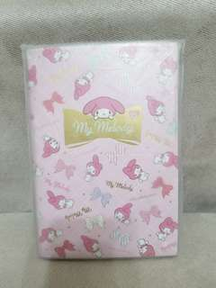 Sanrio Melody MM 2015 Schedule book 記事簿 全新
