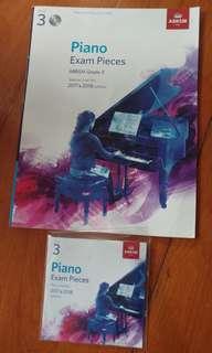PIANO EXAM with CD (Grade 3)
