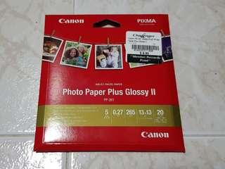 BN Canon Photo Paper Plus Glossy II