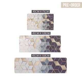 [PO] Honeycomb Geometric Kitchen Floor Mat