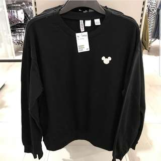 Sweater HnM mickey mouse