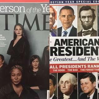 Time Magazine Person of the Year & American Presidents Bundle