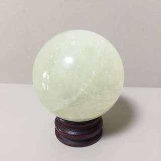 Yellow Crystal Ball
