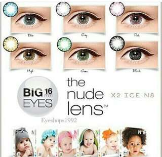 Softlens N8 big eyes by X2
