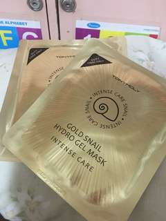 Gold Snail Hydro Gel Mask