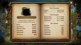 Summoners War G1 Account