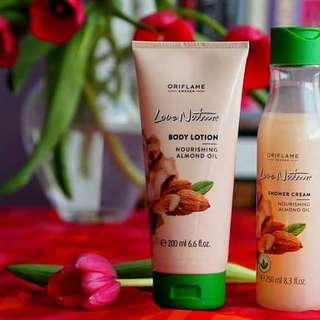 Body lotion dan sower cream