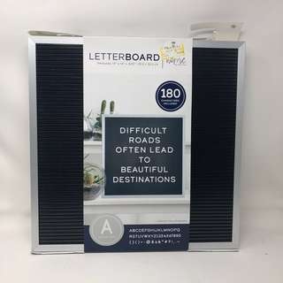 Peg Board  / Letter Board with Letters