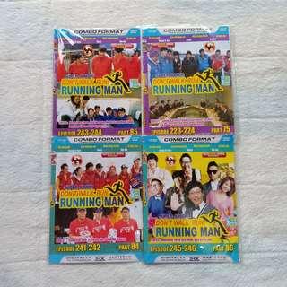 KASET DVD VARIETY SHOW RUNNING MAN KOREA MURAH PRELOVED