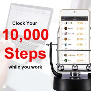 Steps Clocker/Mobile Phone Rocker/Mobile shaker