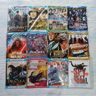 KASET DVD FILM ACTION LUAR NEGRI / BARAT MURAH PRELOVED