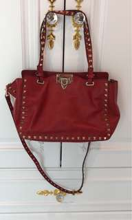 Valentino rockstud small bag (shop price $16500)