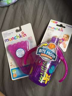 [BN] Munchkin Trainer Cup and Fun Ice Chewy Teether Toy