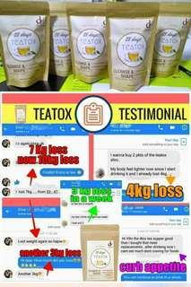 TeaTox body weight loss