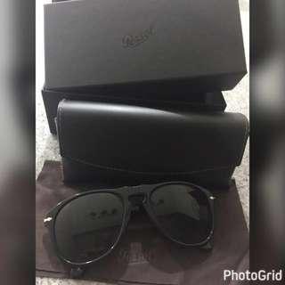 Polarised Black Sun Glasses Persol By Italian Design