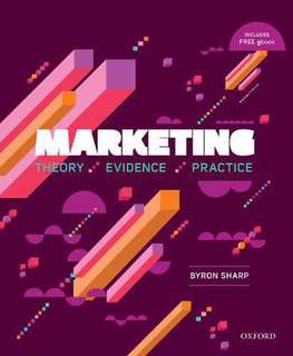 Byron Sharp - Marketing : theory evidence practice