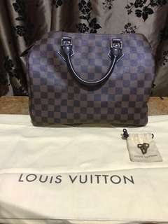 LV speedy 30 dustbag & key 2016