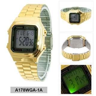 Casio Gold Watch
