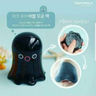 (D) Tony Moly Tako Pore Bubble Pore Pack 65g
