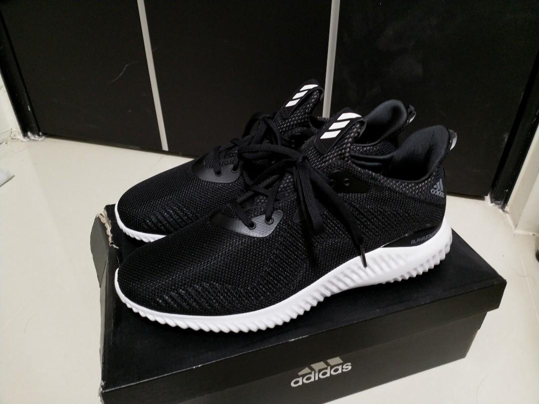 Adidas Alpha BOUNCE 黑 BW0538 US10