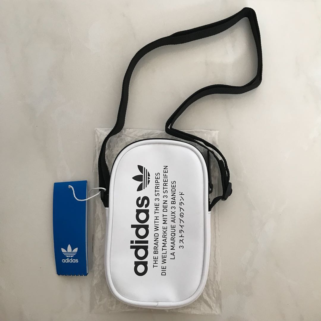 Adidas Originals NMD White Flight Pouch Bag e5561b5d4f4b0