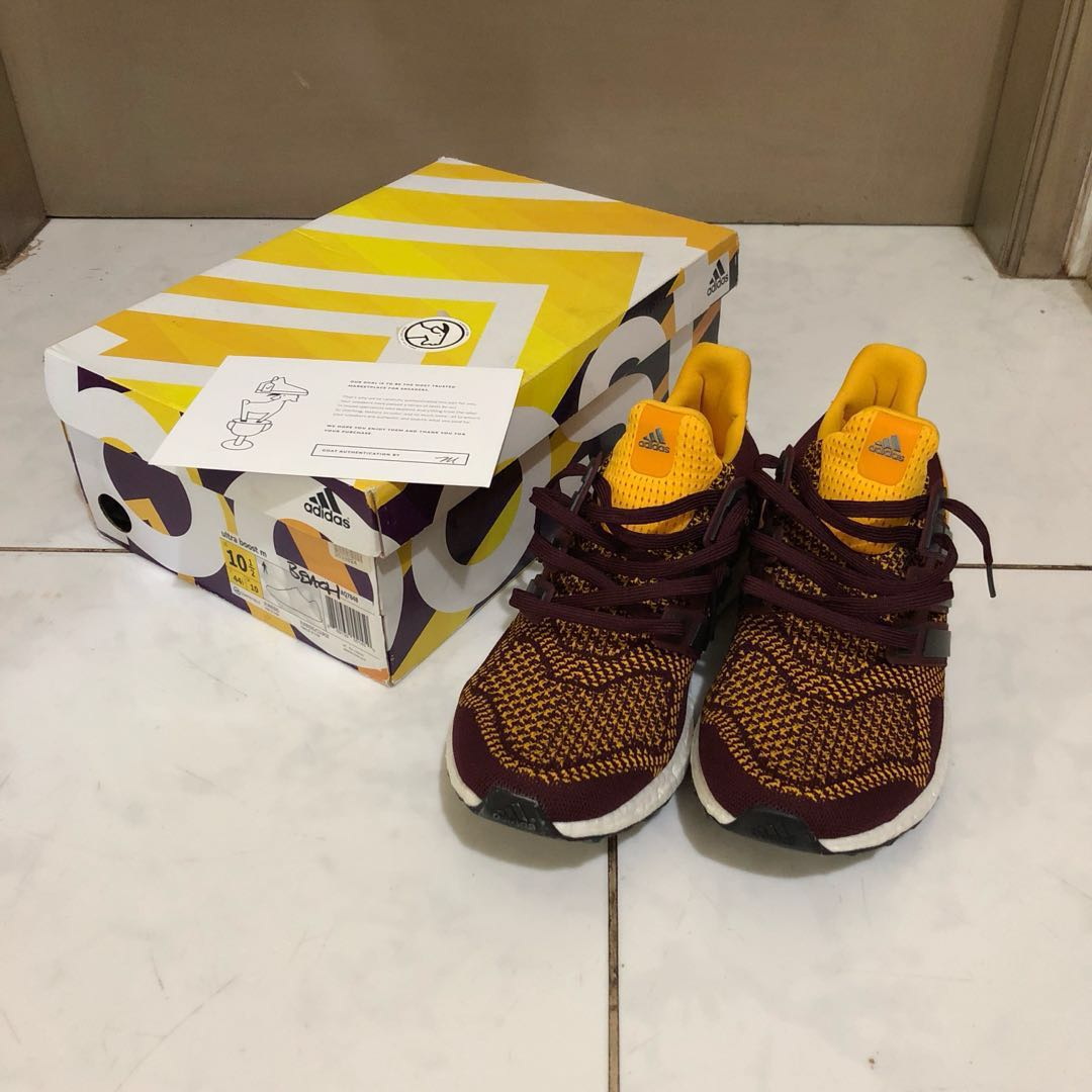78a397bb7 Adidas Ultra Boost Arizona State sz 10.5 US