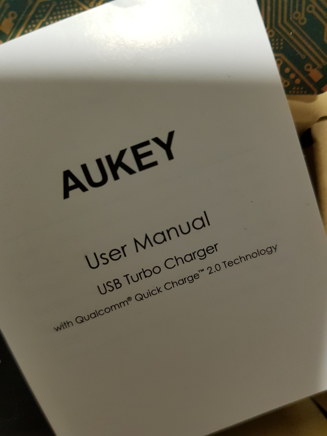 Aukey Usb Turbo Charger Quick Charge 20 Mobiles Tablets Mobile Zola Thunder 2q Qualcomm 30 2 Outputs Black Tablet Accessories Power Banks Chargers On Carousell