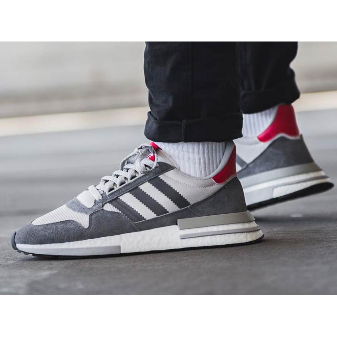 60cd3f53e Authentic Adidas ZX500 Boost Grey