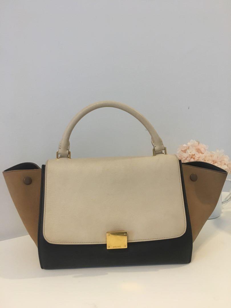 131fed08b0 Authentic Céline Trapeze Bag