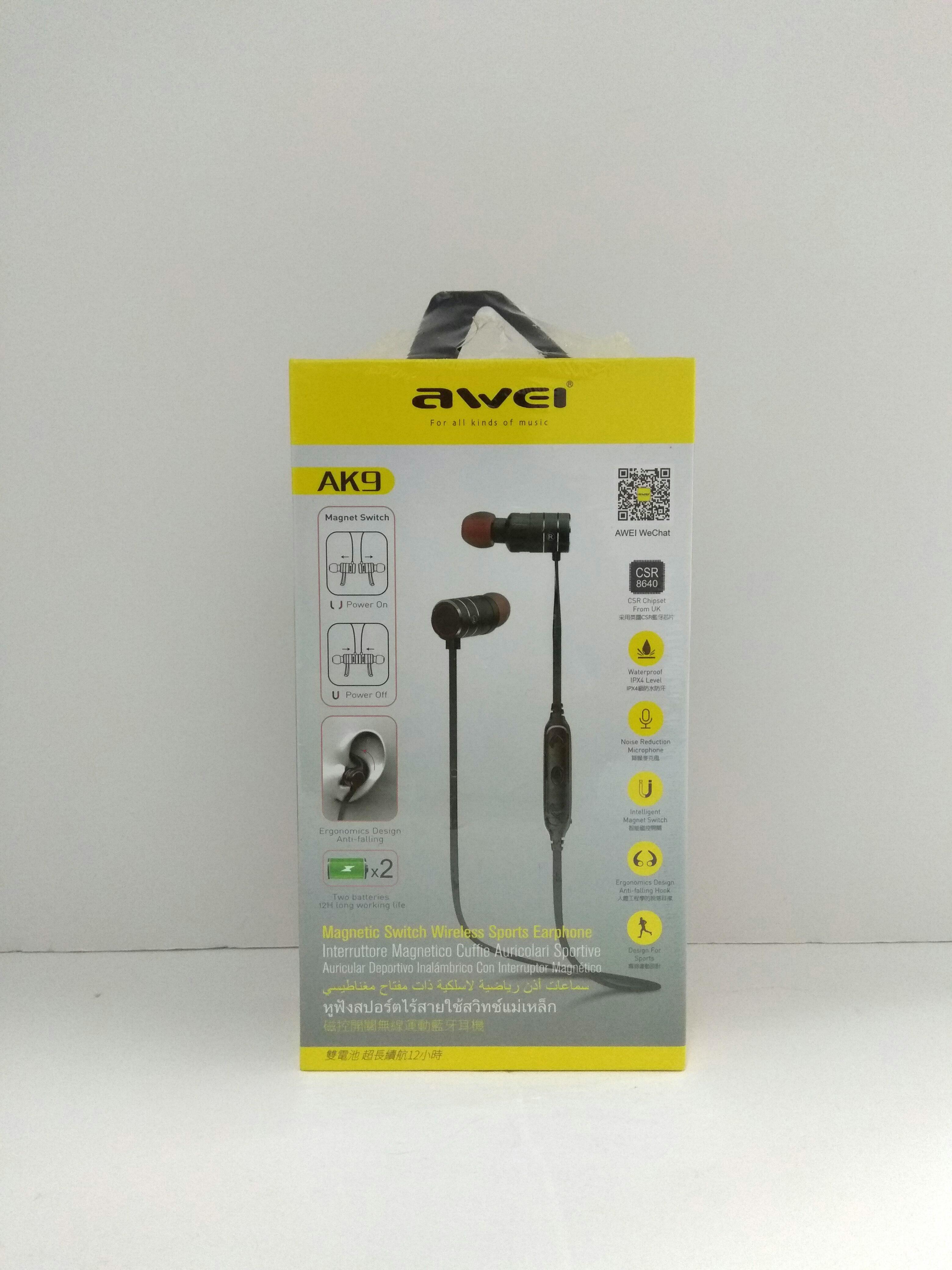 467035c260e AWEI AK9 Wireless Sport Earphones, Electronics, Audio on Carousell
