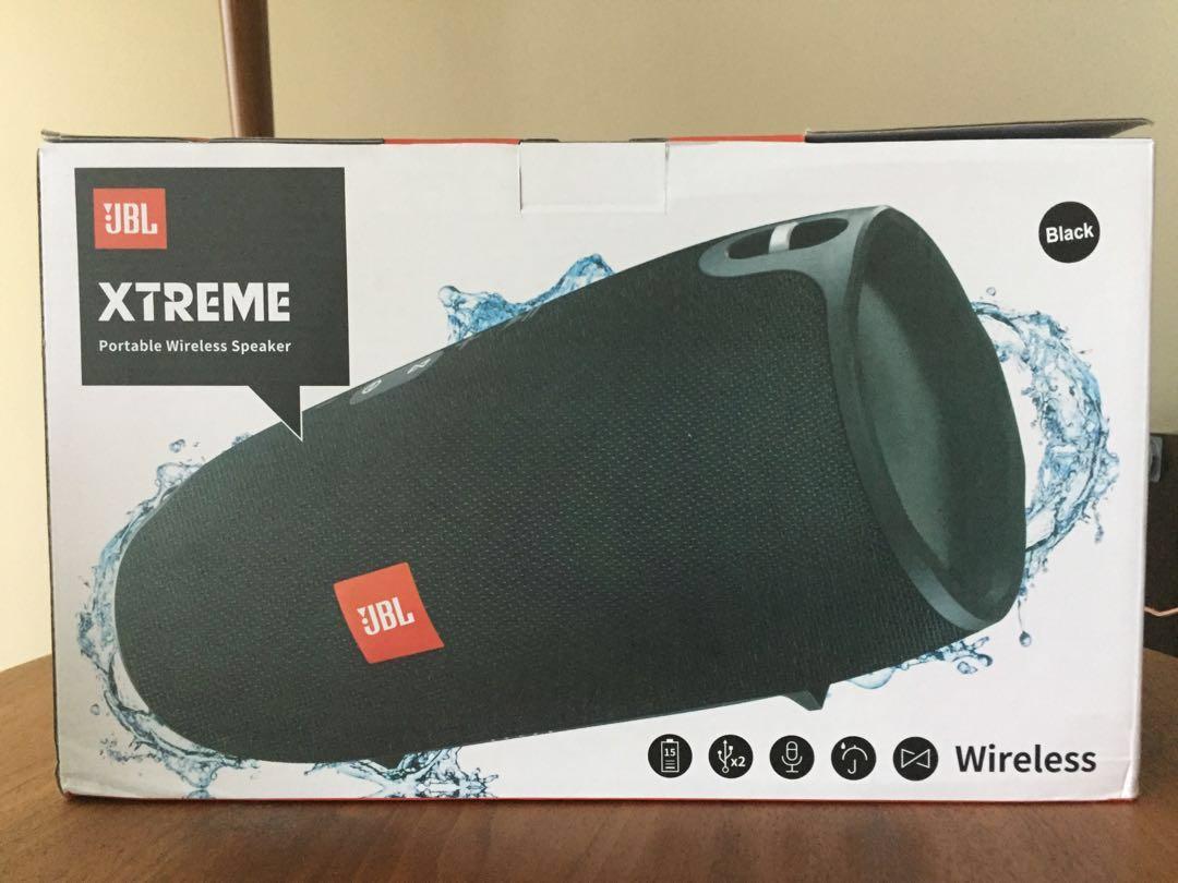 Bnib Oem Grade A Jbl Xtreme Portable Bluetooth Speaker Electronics Black Audio On Carousell